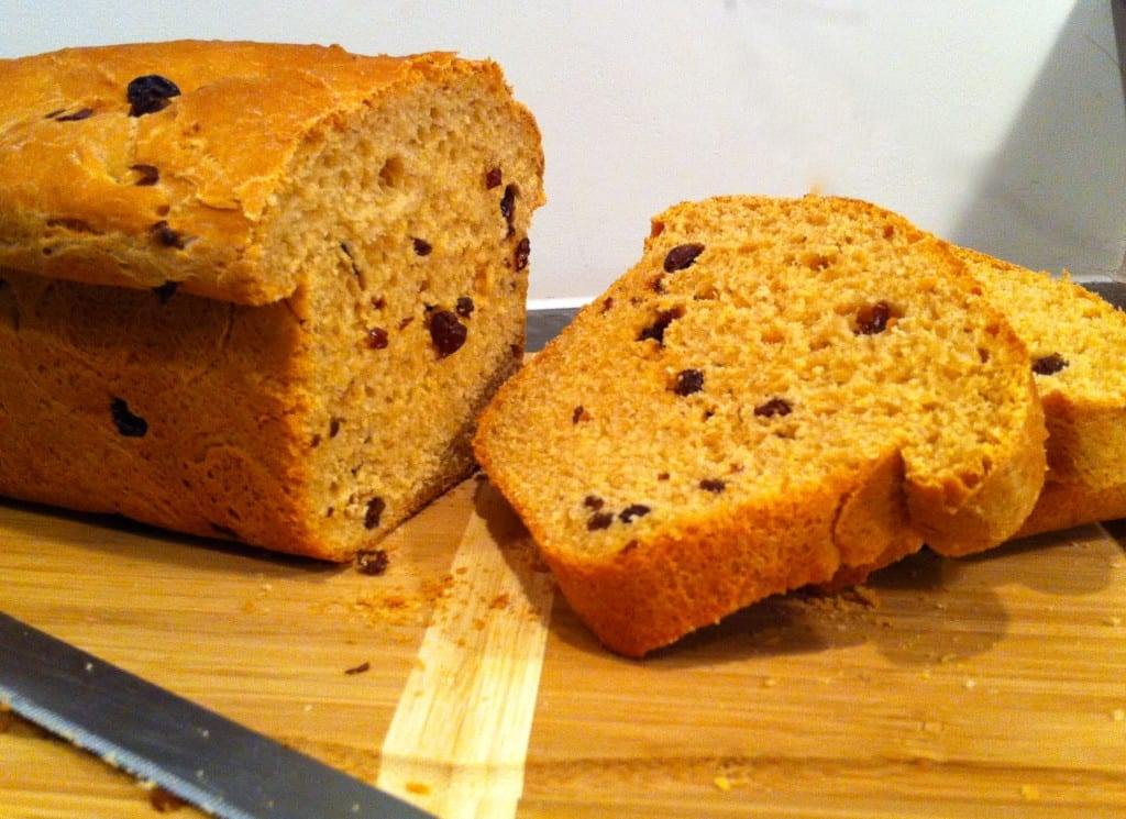 Raisin Bread Sliced