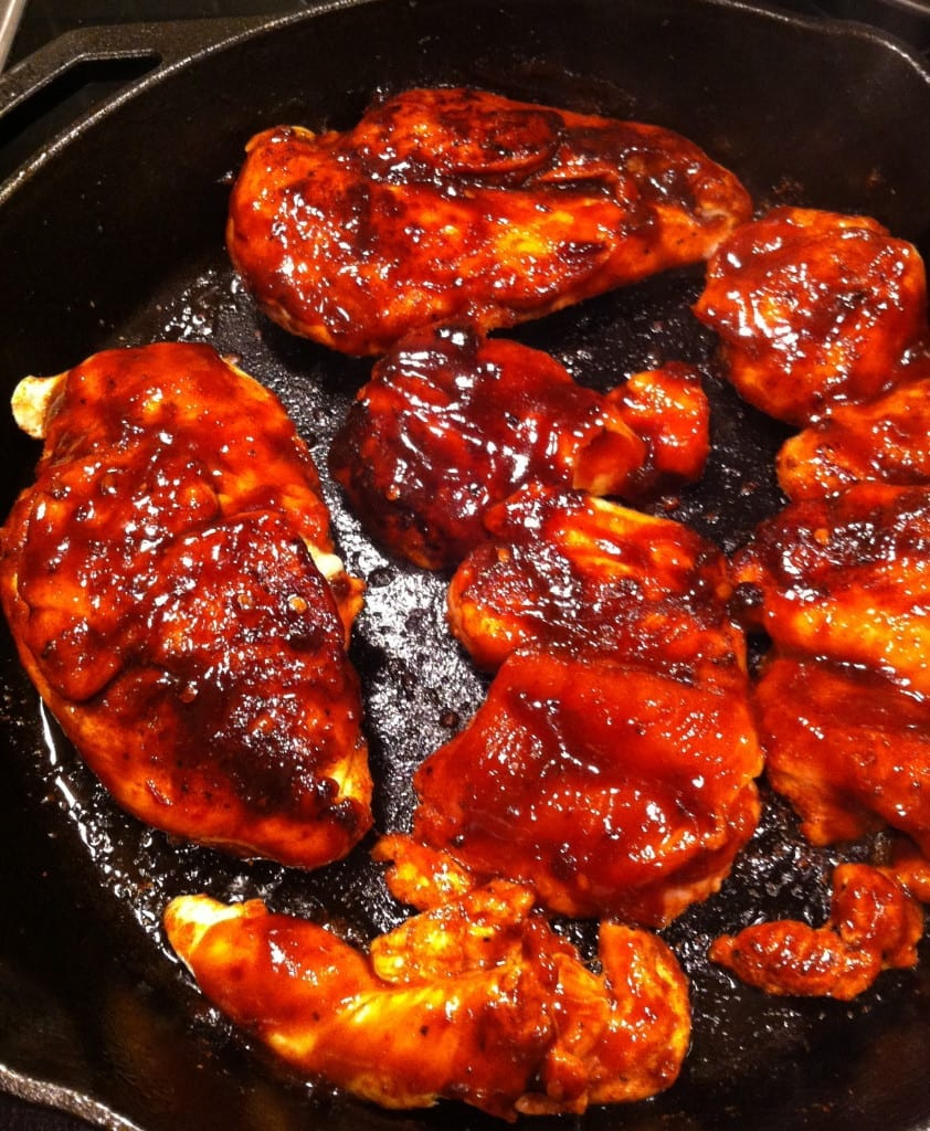 Maple Chipotle Barbecued Chicken