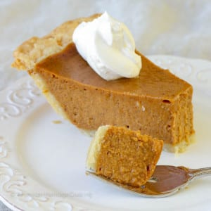 Easy Foolproof Pumpkin Pie