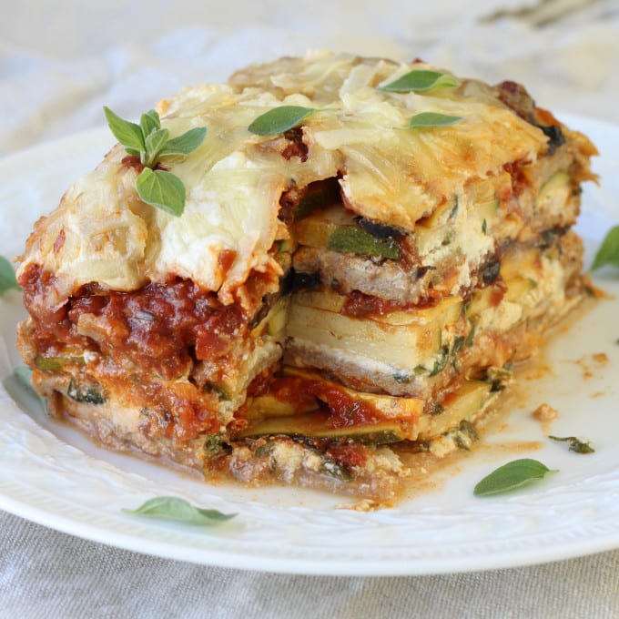 Whole-Wheat Vegetable Lasagna