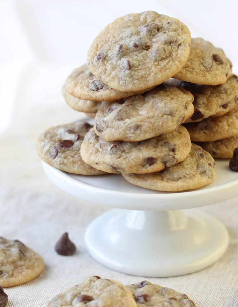 Silver Dollar Chocolate Chip Cookies
