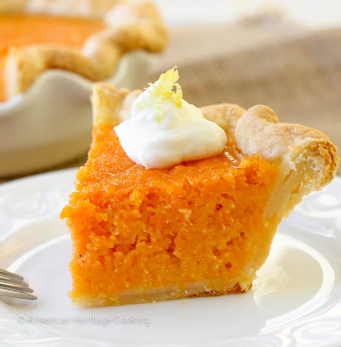 Mary Randolfs Sweet Potato Pie