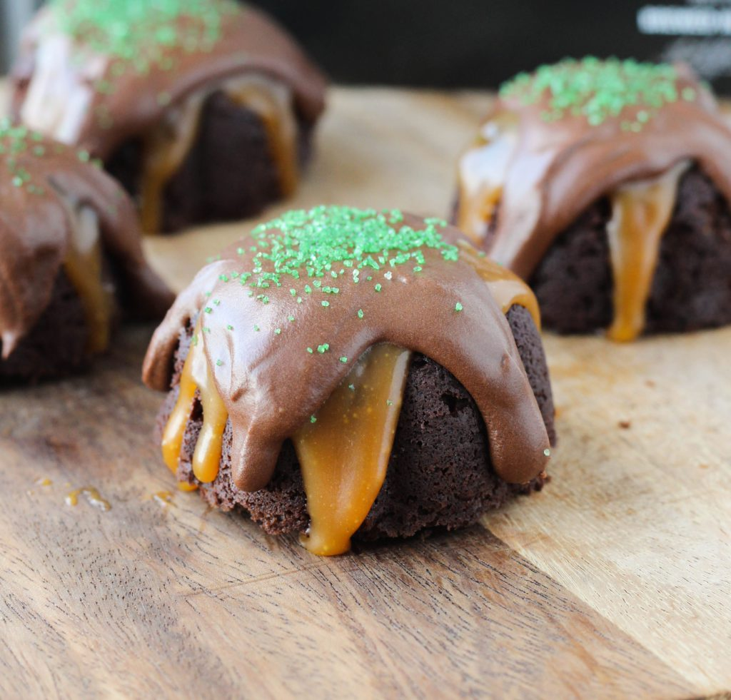 Guinness Chocolate Cake with Salted Caramel and Guinness Ganache