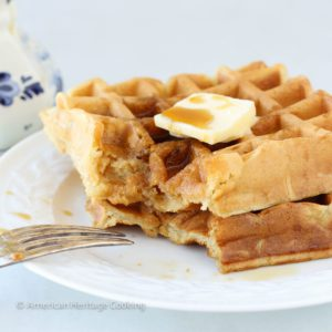 Lazy Sunday Buttermilk Waffles