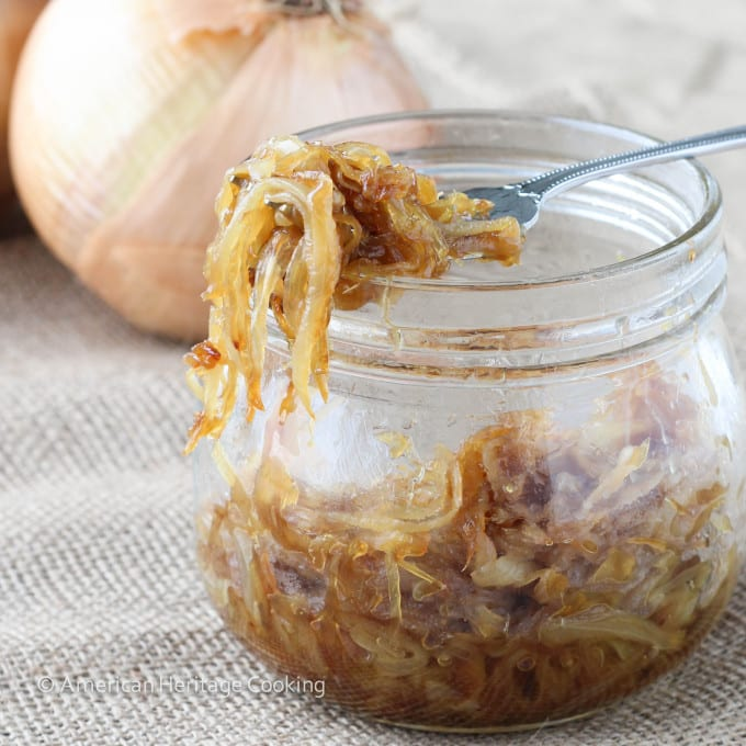 Easy Caramelized Onions