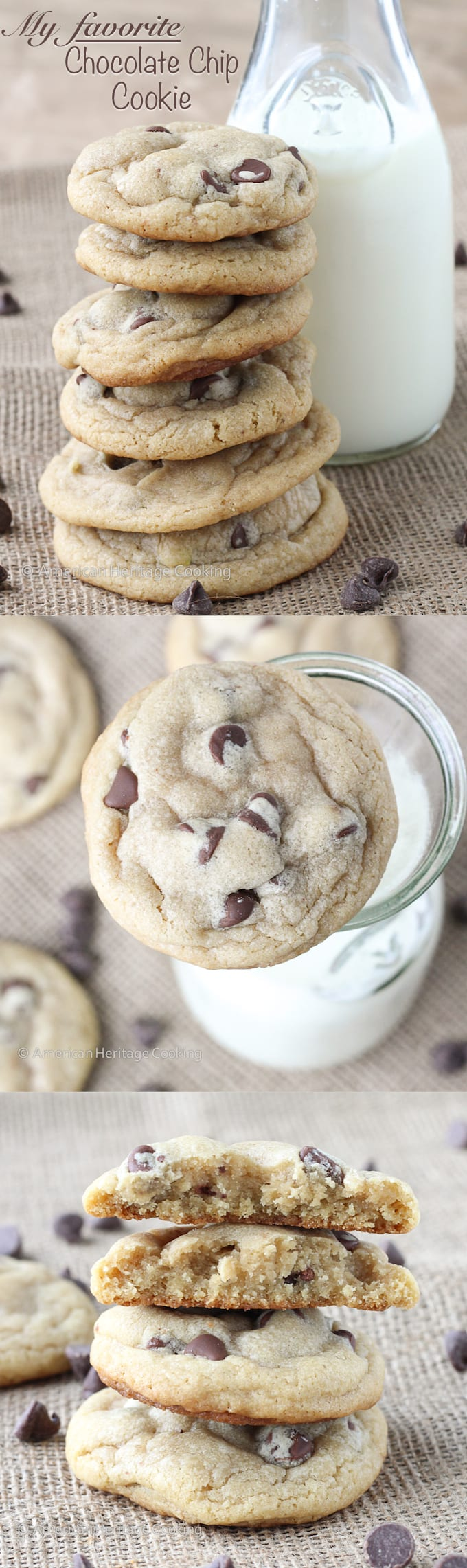 My favorite chewy chocolate chip cookies