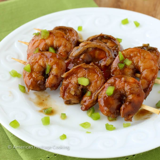 Spicy Barbecue Beer Shrimp