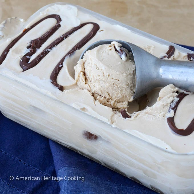 Toasted Marshmallow Smores Ice Cream