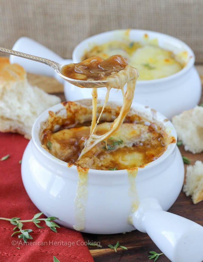 Homemade French Onion Soup