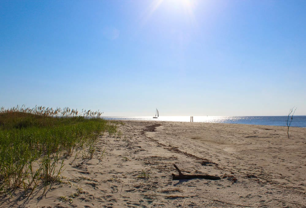 Thanksgiving 2014 - A Post about thankfulness and what I am particularly thankful for this year. Photo of Bald Head Island