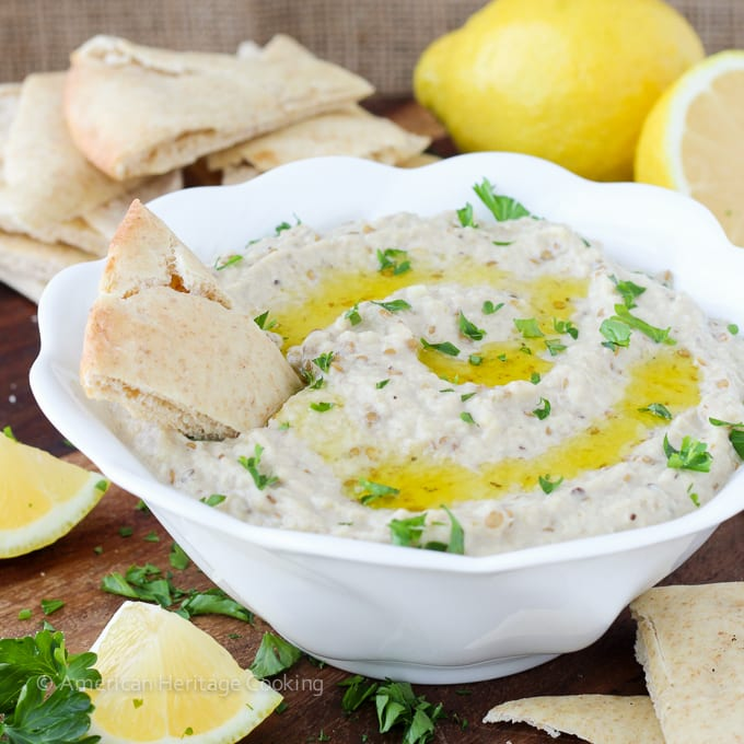 Baba Ganoush is a silky, smoky eggplant dip! This easy recipe hits all the right notes for a dip: creamy, tangy, and addicting!