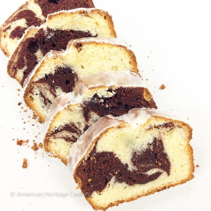 Culinary School Update Part 3 : Marble Pound Cake