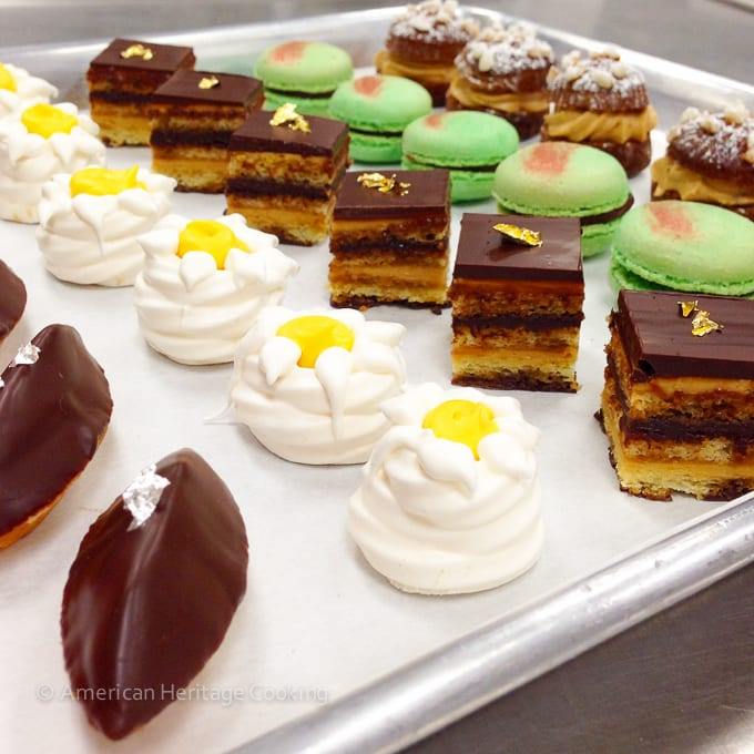 Culinary School Update Part 3 :  Petits Fours