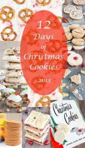 12 Days of Christmas Cookies 2015