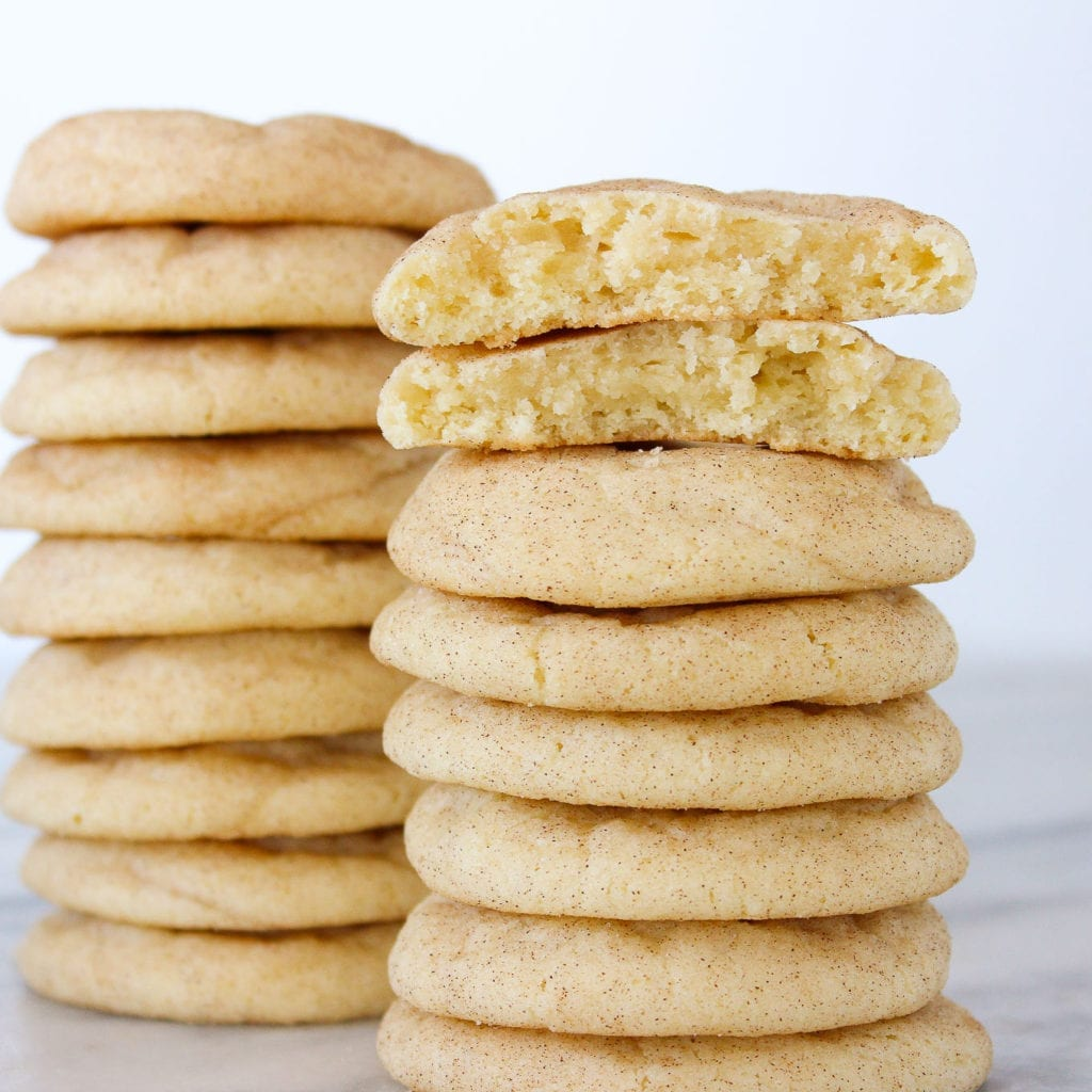 The BEST Snickerdoodle Cookie is here! It is the softest, chewiest snickerdoodle you'll ever have.