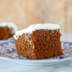 This American Gingerbread Cake is light, fluffy and moist with the perfect amount of spice! Gingerbread in its purest form.