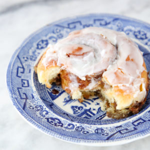These Sourdough Cinnamon Rolls are soft, tender, cinnamon sugar perfection. Look no further for the actual best cinnamon rolls of your life!