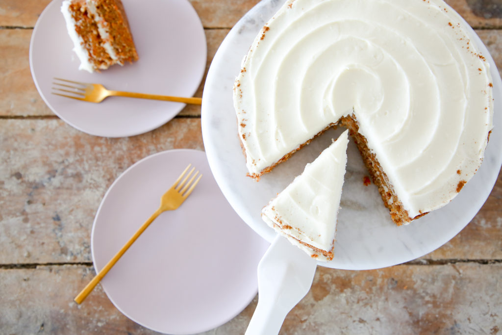 This is the BEST Carrot Cake. It is a light, moist cinnamon cake with the perfect amount of carrots!