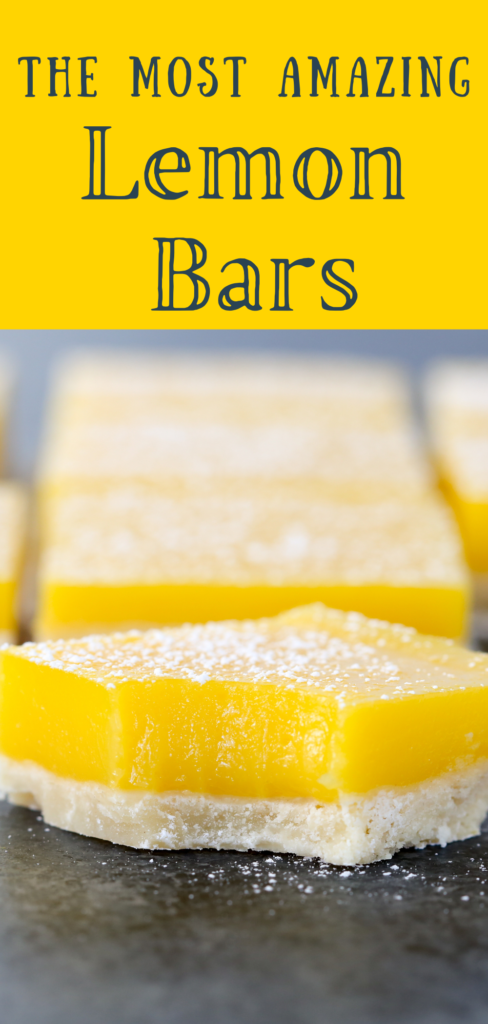 most amazing lemon bars