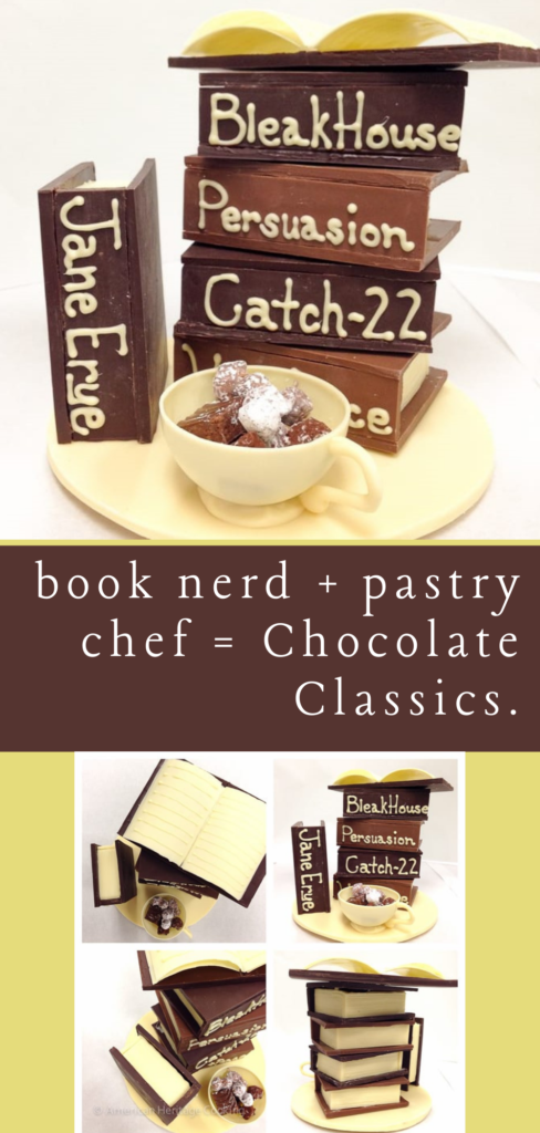 chocolate candy stand
