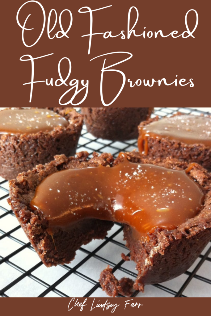 Old Fashioned Fudgy Brownies