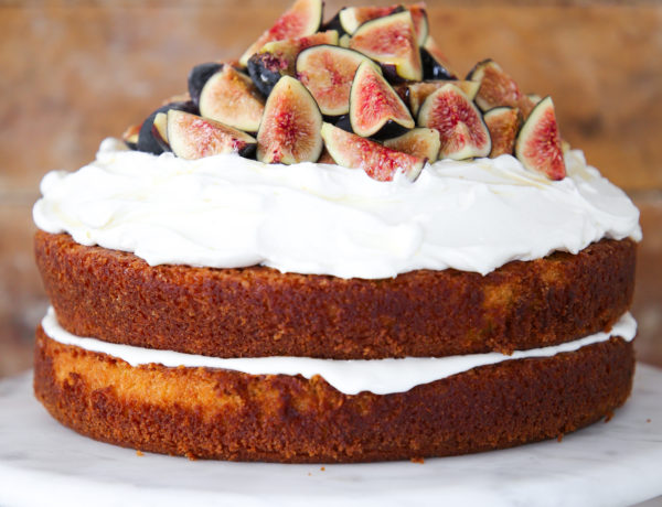 The Best Fig Cake